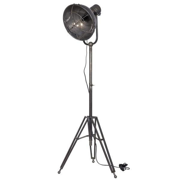 Vintage Stehlampe SPOTLIGHT metall Standleuchte Lampe Metall H 167 cm