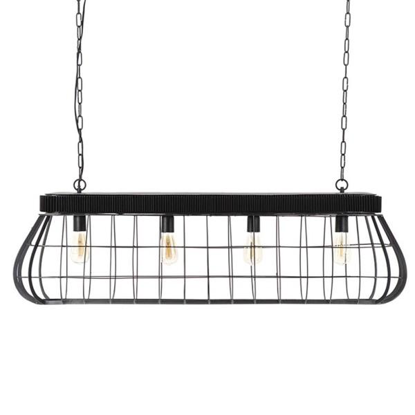 Hängelampe Moonlight XL 3 flmg Metall schwarz Deckenleuchte Lampe Hängeleuchte