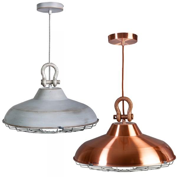 Industrielampe Hängelampe INDUSTRY II Metall Hängeleuchte Lampe Deckenlampe