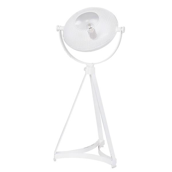 Tischampe BLOWN 79 cm Metall weiß Tischleuchte