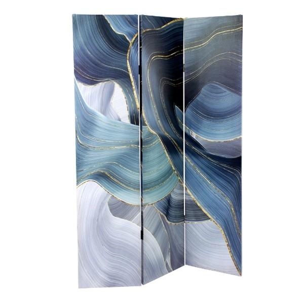 Paravent Flow 3 flügl Raumteiler Trennwand Spanische Wand Raumtrenner