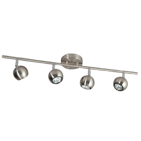Retro Deckenstrahler GLOBO 4 flg Metall Deckenspot Deckenleuchte Deckenlampe