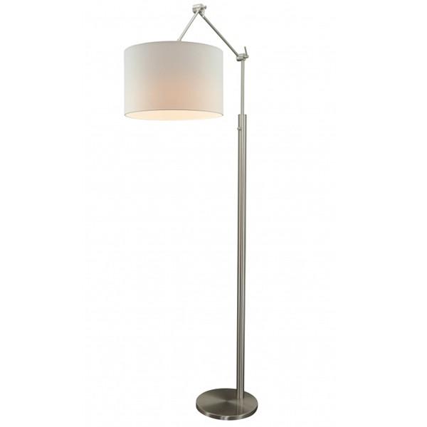 Flurlampe Stehlampe ZARA Stehleuchte Flurleuchte Lampe 178 cm Schirm weiß