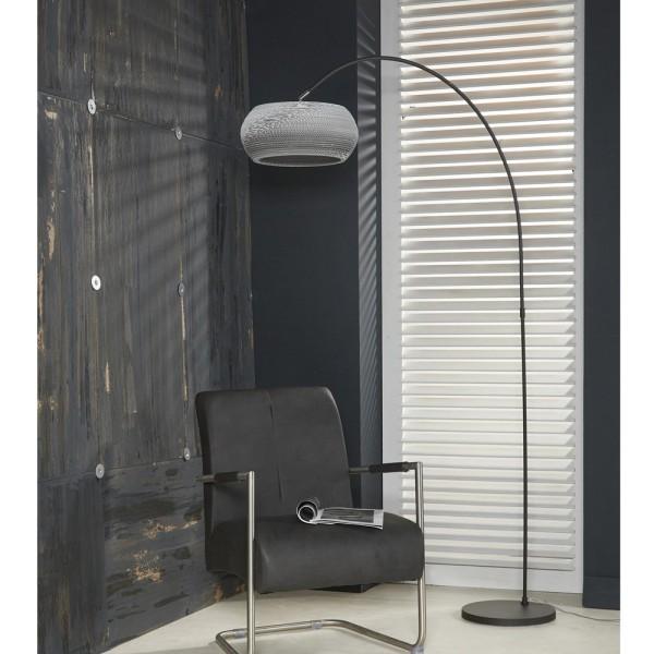 Bogenlampe Carta H 200 cm weiß 1flg Stehlampe Standleuchte Lampe Standlampe