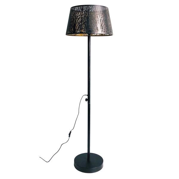 Stehlampe Keto 1 flmg H 161 cm Metall antikmessing Standleuchte Stehlampe Lampe