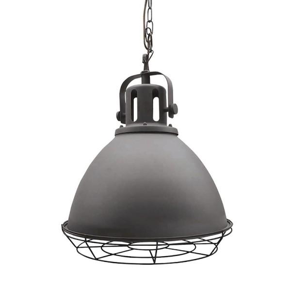 Industrie Lampe Design SPOT 47 cm Stuhl Metall Hängelampe Hängeleuchte