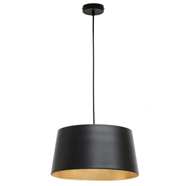 Hängelampe Pien Ø 40 cm Metall schwarz Deckenleuchte Deckenlampe Pendellampe