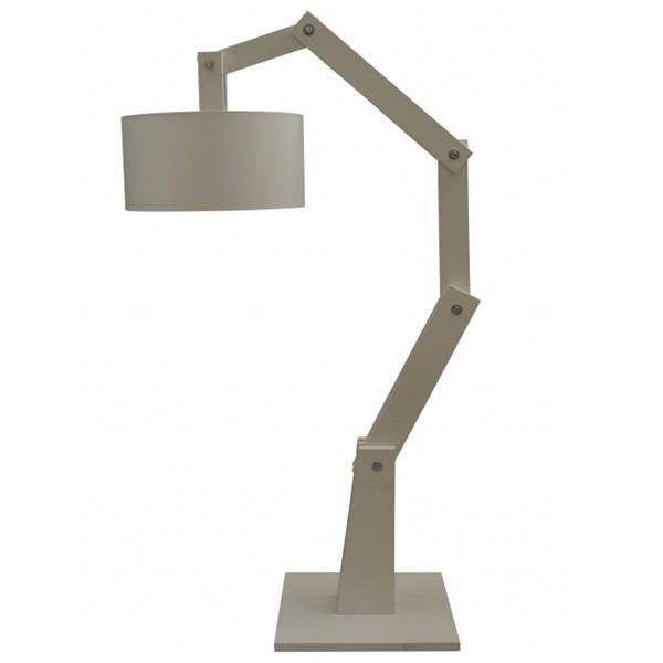 Flurlampe Stehlampe BEN Stehleuchte Flurleuchte Lampe 205 cm Holz weiß (ohne Lampenschirm)