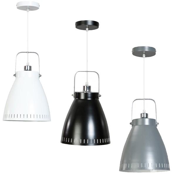 Retro Vintage Hängelampe ACATE 1flg Ø 26cm Metall Hängeleuchte Lampe Deckenlampe