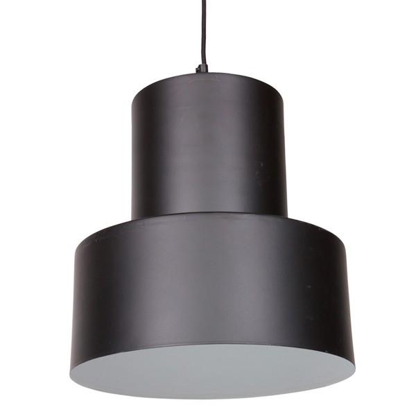 Hängelampe BEAM Ø 35 cm Lampe Leuchte Hängeleuchte Aluminium schwarz