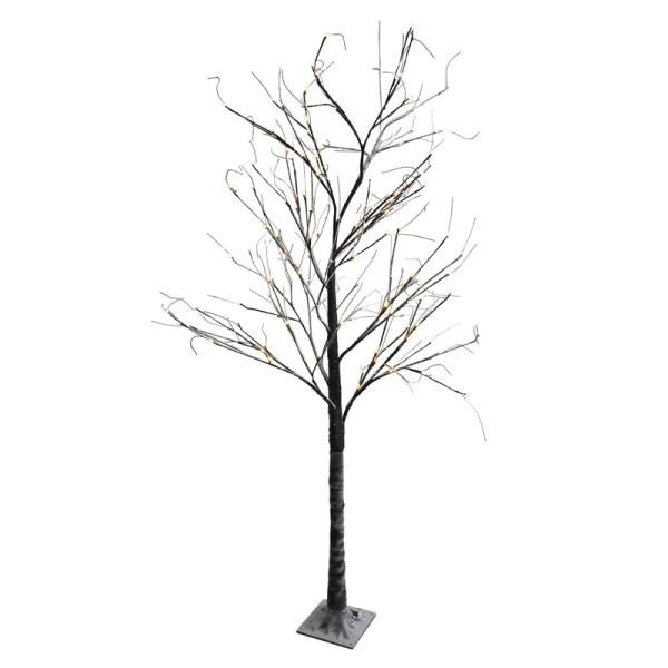 Dekobaum LED Baum beschneit 220 cm Lichterbaum Weihnachtsbaum Deko 138 LED