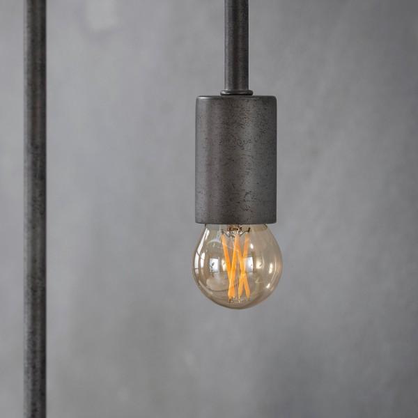 LED Glühlampe Filament Globus Ø 4,5 cm Leuchte Glühbirne E27 Lampe dimmbar