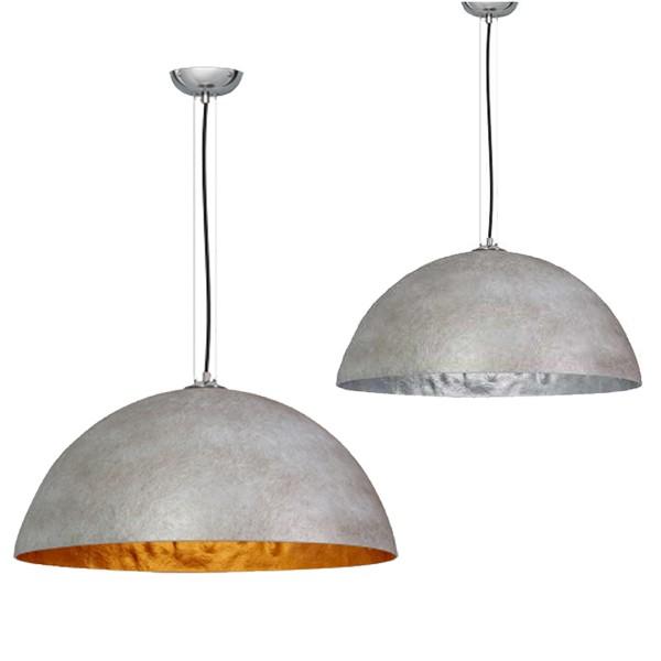 Hängelampe MEZZO TONDO Beton Hängeleuchte Leuchte Lampe Metall Industrielampe