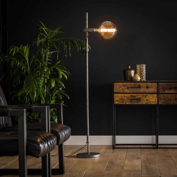 Stehlampe IMOTION 1 flmg H 150 cm Metall altsilber Standleuchte Leuchte Lampe