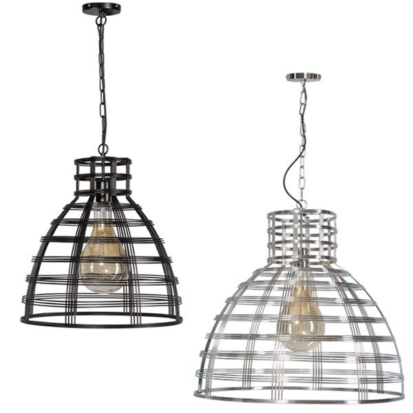 Hängelampe MOLFETTA Hängeleuchte Leuchte Lampe Metall Industrielampe Metalllampe