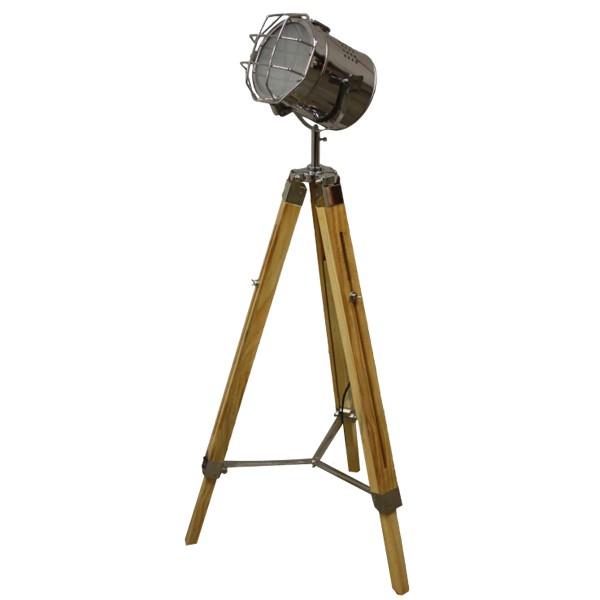 Tripod Industrie Stehlampe Spotlight Studiolampe Lampe Metall ...