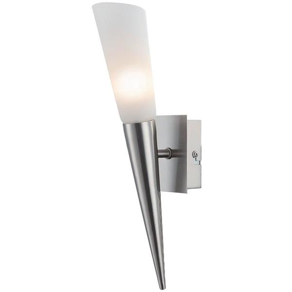 LED Wandleuchte 1-flg. RIVERPOOL Wandlampe Wandstrahler Flurlampe Lampe nickel matt