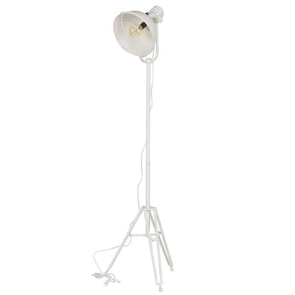 Vintage Stehlampe SPOTLIGHT weiß