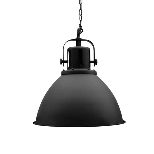 Industrie Lampe Design SPOT 47 cm schwarz Metall Hängelampe Hängeleuchte
