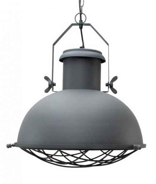 Industrie Lampe Design Hängelampe GRID 52 cm Metall Hängeleuchte