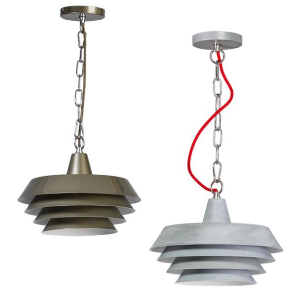 Industrielampe Hängelampe BITONTO Metall Hängeleuchte Lampe Leuchte Deckenlampe