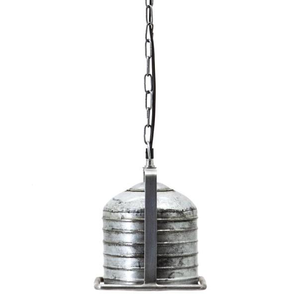 Hängelampe Minack 18 x 18 cm Metall metallic Hängeleuchte Lampe Deckenlampe