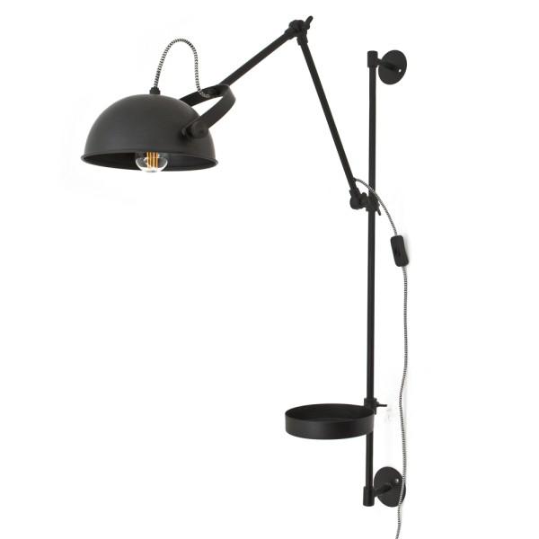 Wandlampe EAGLE Metall schwarz Wandleuchte Lampe Leuchte Wand Beleuchtung