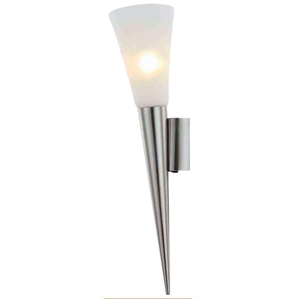 LED Wandleuchte 1-flg. RADUZ Wandlampe Wandstrahler Flurlampe Lampe nickel matt