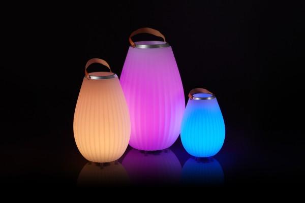 Laterne Musik Box Leuchte Lautsprecher Bluetooth Sektkühler JOOULY Grösse M