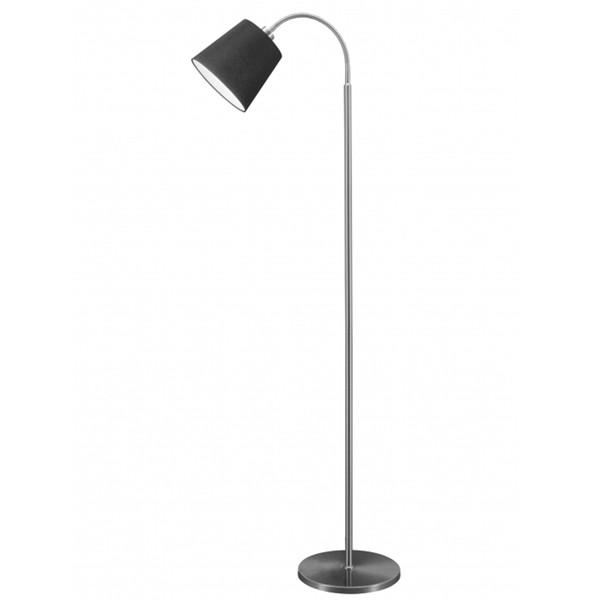 Flurlampe Stehlampe FLEXI Stehleuchte Flurleuchte Lampe Leuchte 140 cm schwarz