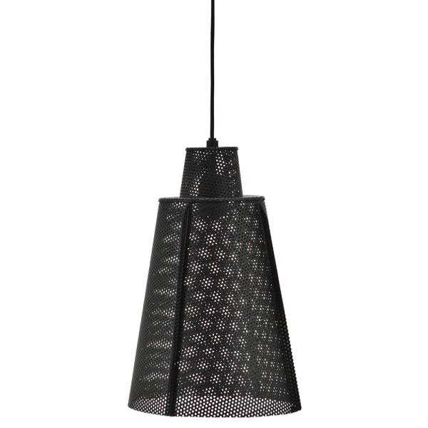 Hängelampe APOLLO Metall vintage schwarz Ø 25 cm Hängeleuchte Lampe Leuchte