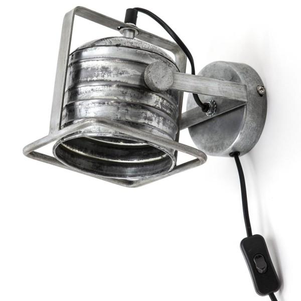 Wandlampe Minack Metall metallic Wandleuchte Lampe Leuchte Beleuchtung