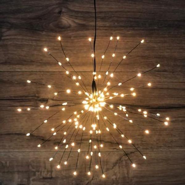 LED Leuchtstern LITTLE STARS schwarz 160 Lichtern Sternenlampe Sternenlampe