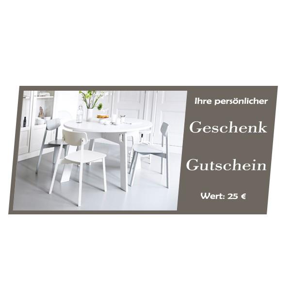 Geschenkgutschein - Immer eine gute Idee! 25€
