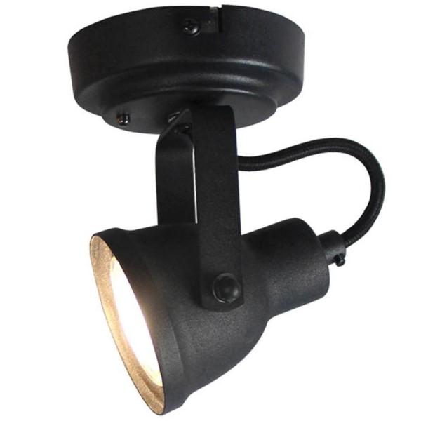 LED Deckenleuchte MAX 1 flg Metall schwarz Lampe Deckenlampe Deckenbeleuchtung