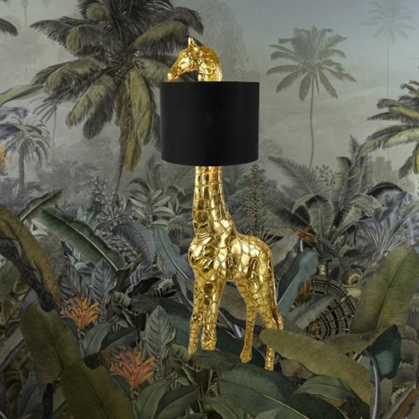 Stehlampe GiGi Giraffen H 171 cm Polyresin Standleuchte Lampe Leuchte