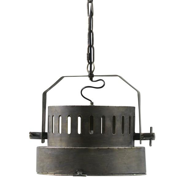 Hängelampe THEATER Ø 30 cm Hängeleuchte Lampe Pendelleuchte Metall antikmessing