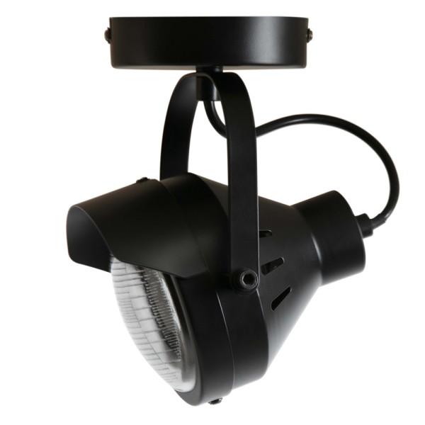 Deckenstrahler Lester 1 flg Metall schwarz Deckenspot Deckenleuchte Deckenlampe