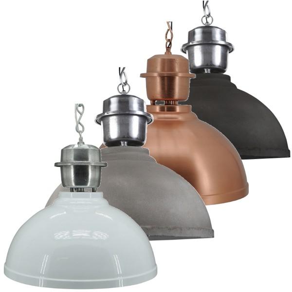 Industrielampe Hängelampe LANCASTER Metall Hängeleuchte Lampe Deckenlampe