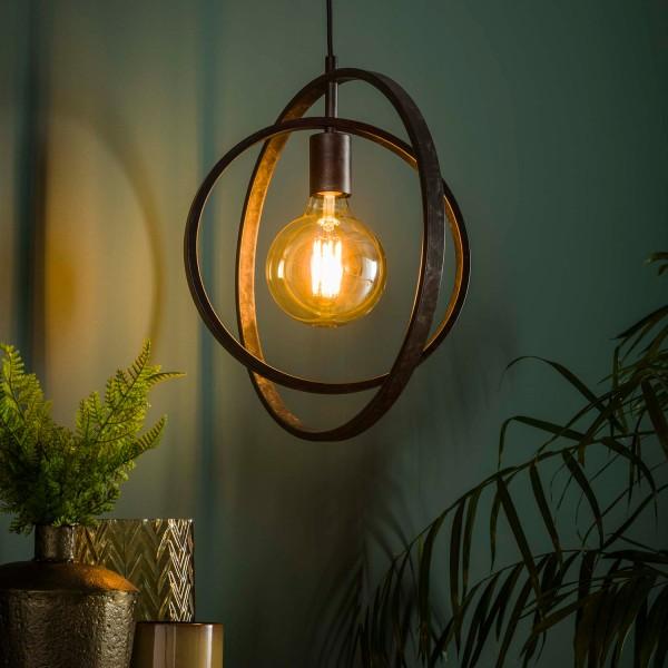 Hängelampe ROUND 1 flmg Metall kohlegrau Lampe Deckenlampe Hängeleuchte