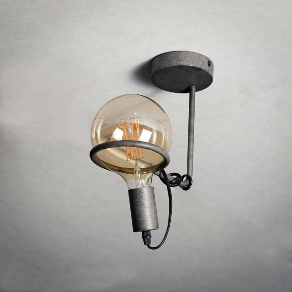 Deckenlampe NEPTUN II 1 flmg Metall altsilber Lampe Deckenlampe Pendellampe