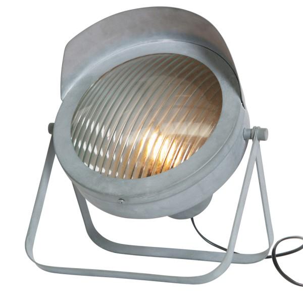 Stehlampe LESTER 34 cm Leuchte Tischlampe Tischleuchte Lampe Metall betongrau