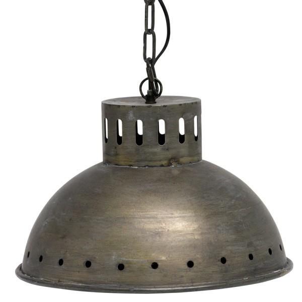 Hängelampe KETTLE Ø 39,5 cm Hängeleuchte Lampe Pendelleuchte Metall antikmessing