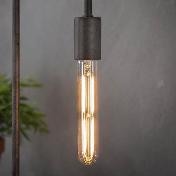 LED Glühlampe Filament Röhre 18,5 cm Leuchte Glühbirne 4W E27 Lampe dimmbar