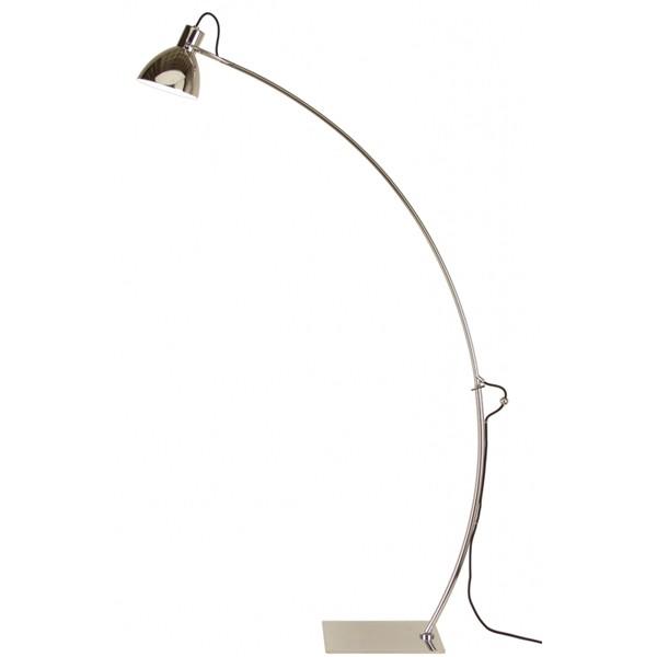 Stehlampe OAKLEY nickel 142 cm Stehleuchte Standleuchte Standlampe Leuchte Lampe