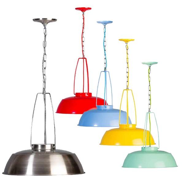 Industrielampe Hängelampe BRINDISI Metall Hängeleuchte Lampe Leuchte Deckenlampe