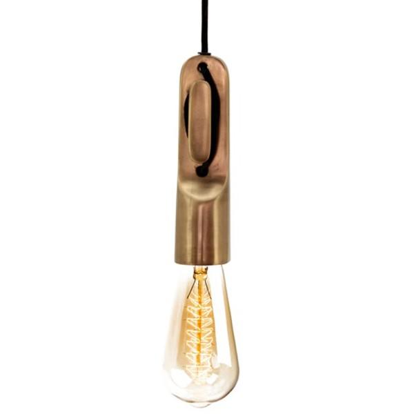 Hängelampe LOBOS Ø 5 cm Aluminium Hängeleuchte Lampe Deckenlampe Pendelleuchte