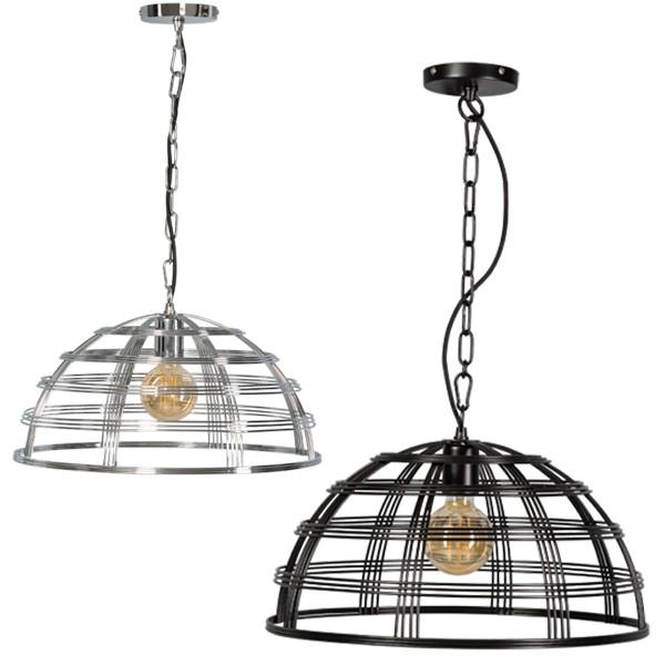 Hängelampe BARLETTA Hängeleuchte Leuchte Lampe Metall Industrielampe Metalllampe