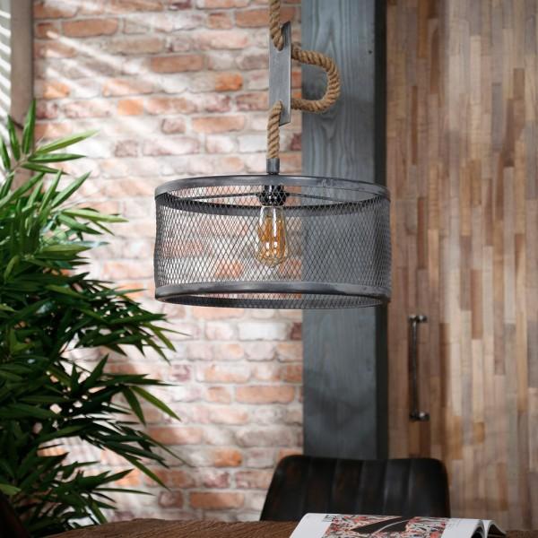 Hängelampe MARA Ø 40 cm Metall betonoptik Hängeleuchte Pendelleuchte Deckenlampe