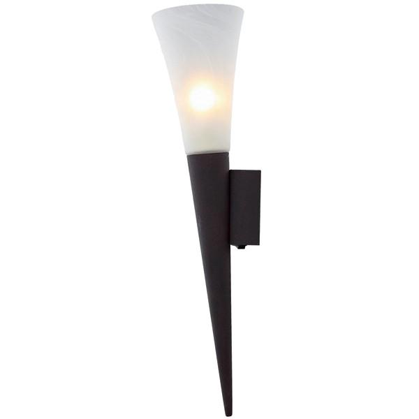 LED Wandleuchte 1-flg. RADUZ Wandlampe Wandstrahler Flurlampe Lampe rostfarbig
